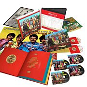 Sgt. Pepper's Lonely Hearts Club Band Anniversary Edition (4CD+Bluray+DVD)