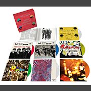 """The Beatles Christmas Records Box (7x7"""" Color EP)"""