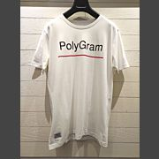 PolyGram Crew Neck Shirt (White)【限時換購價$50】