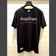 PolyGram Crew Neck Shirt (Black) 【限時換購價$50】